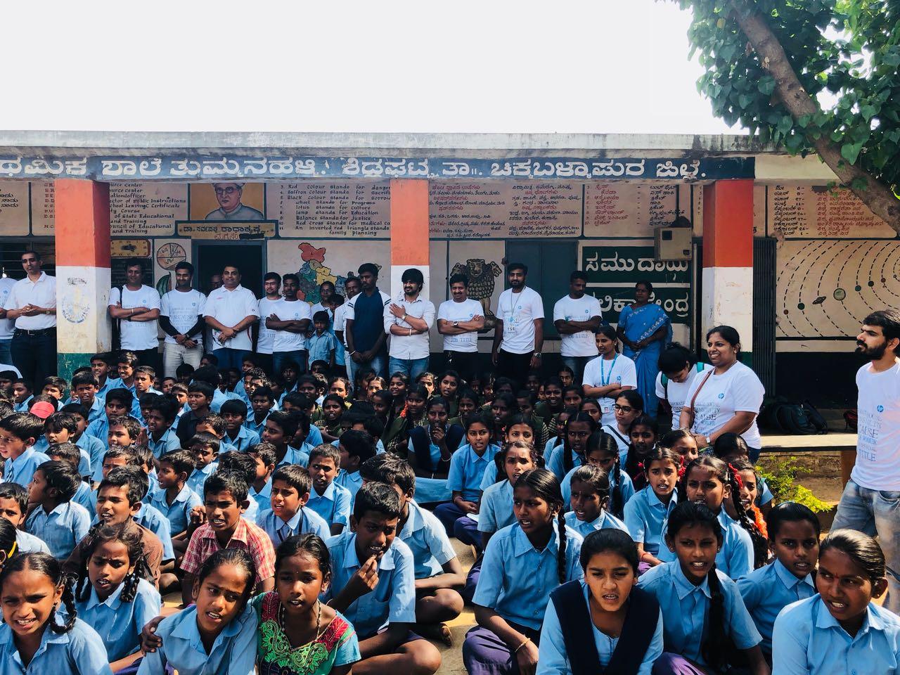 Childrens Day At Govt School