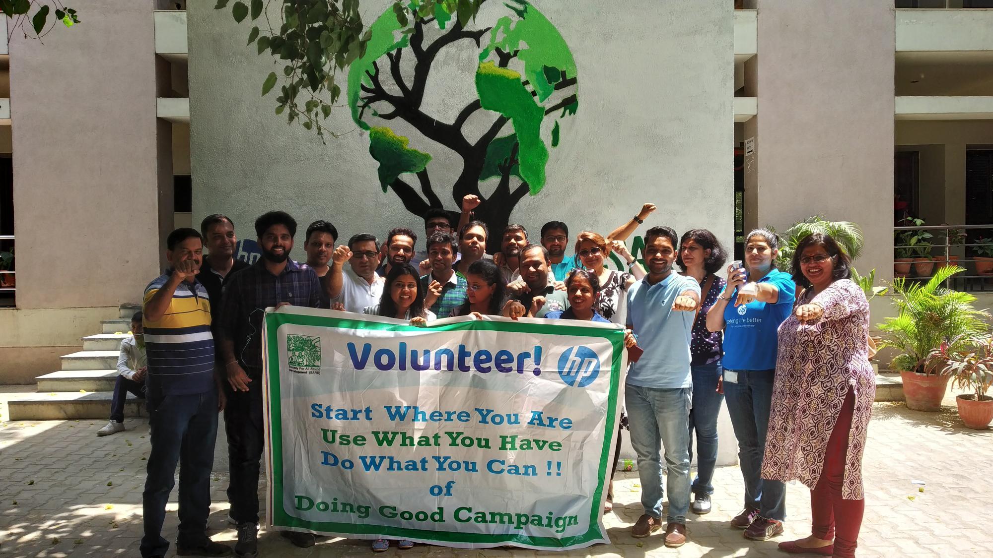 CSR @ PALAM- New Delhi