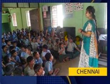 COVID Awareness Session @ Govt School Kids